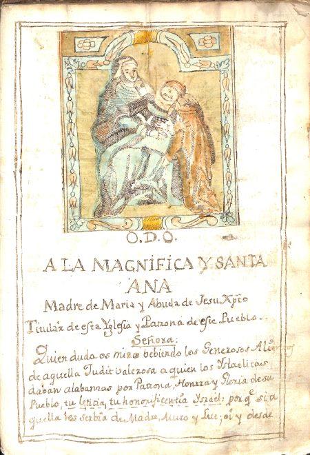 Página de Santa Ana