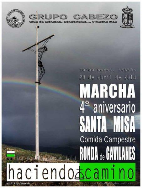 Marcha 4º Aniversario Grupo Cabezo