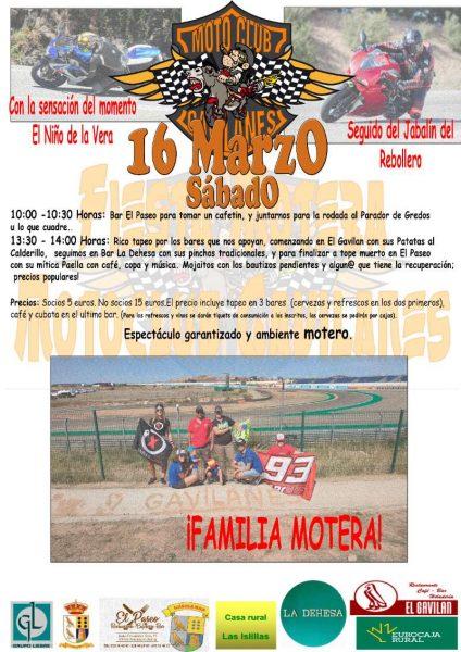 Quedada Moto Club Gavilanes